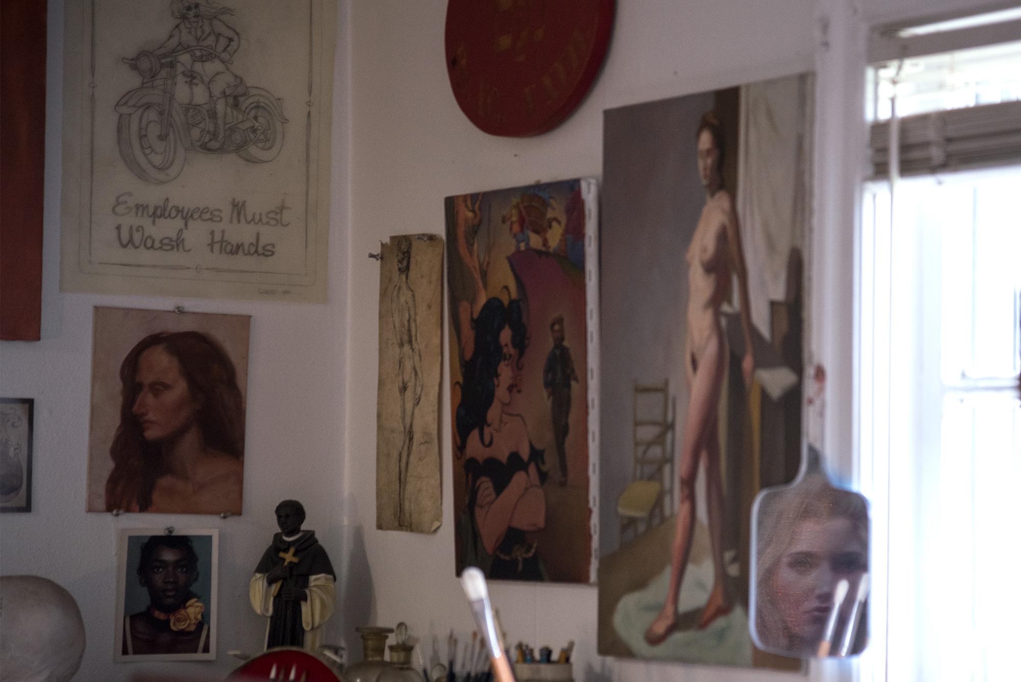 Robert Garey's studio