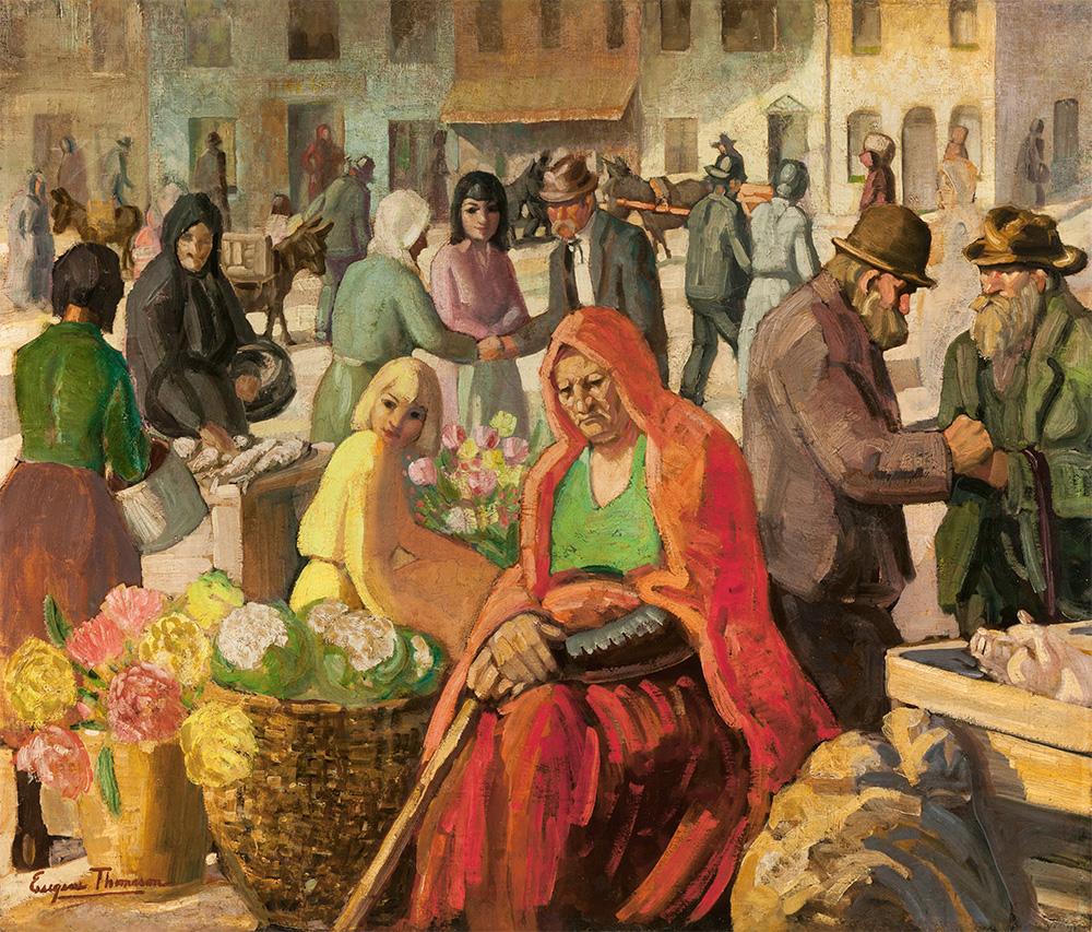 Eugene Thomason - Irish Market Scene