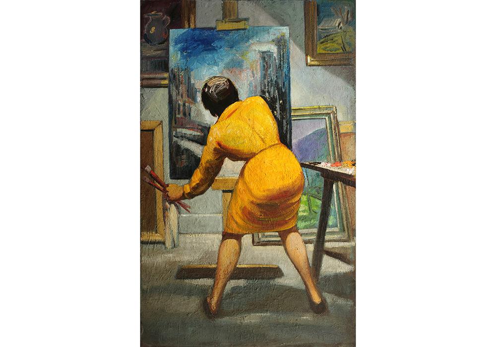 Eugene Thomason - Art Student