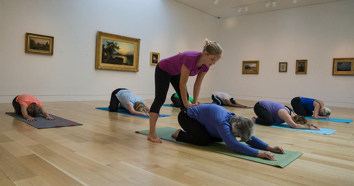 Yoga at FCM