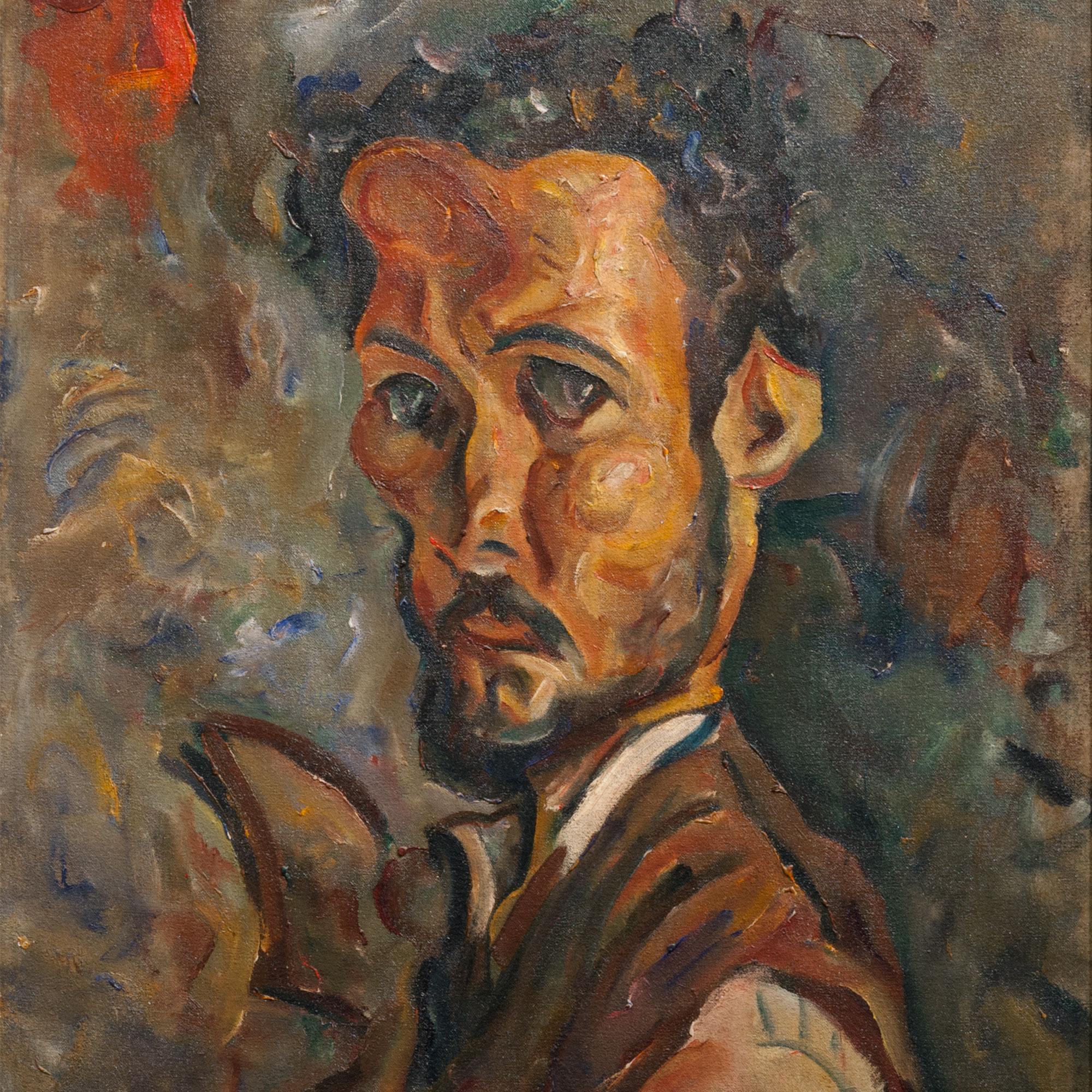 William H. Johnson Self Portrait