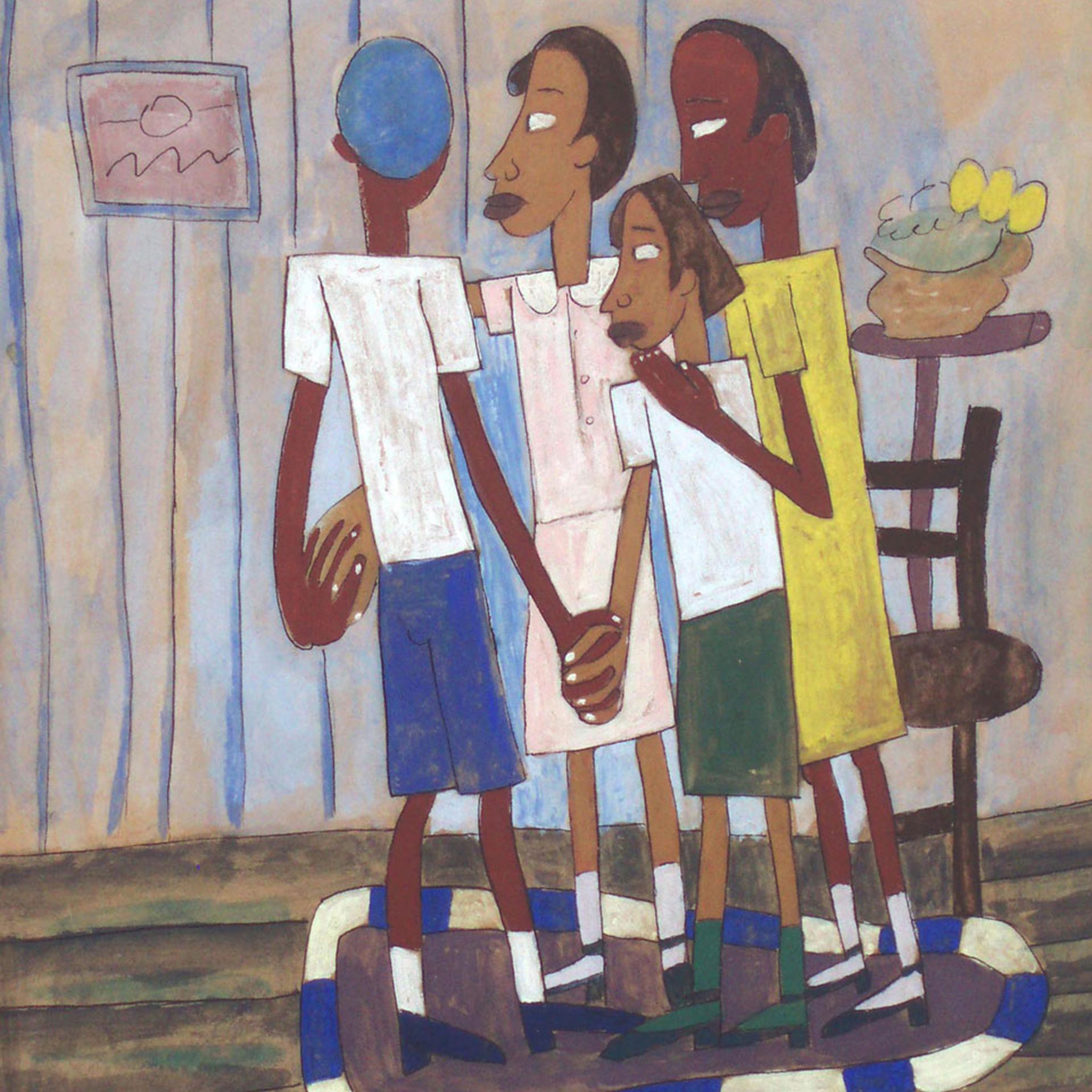 William H. Johnson - Children's Party