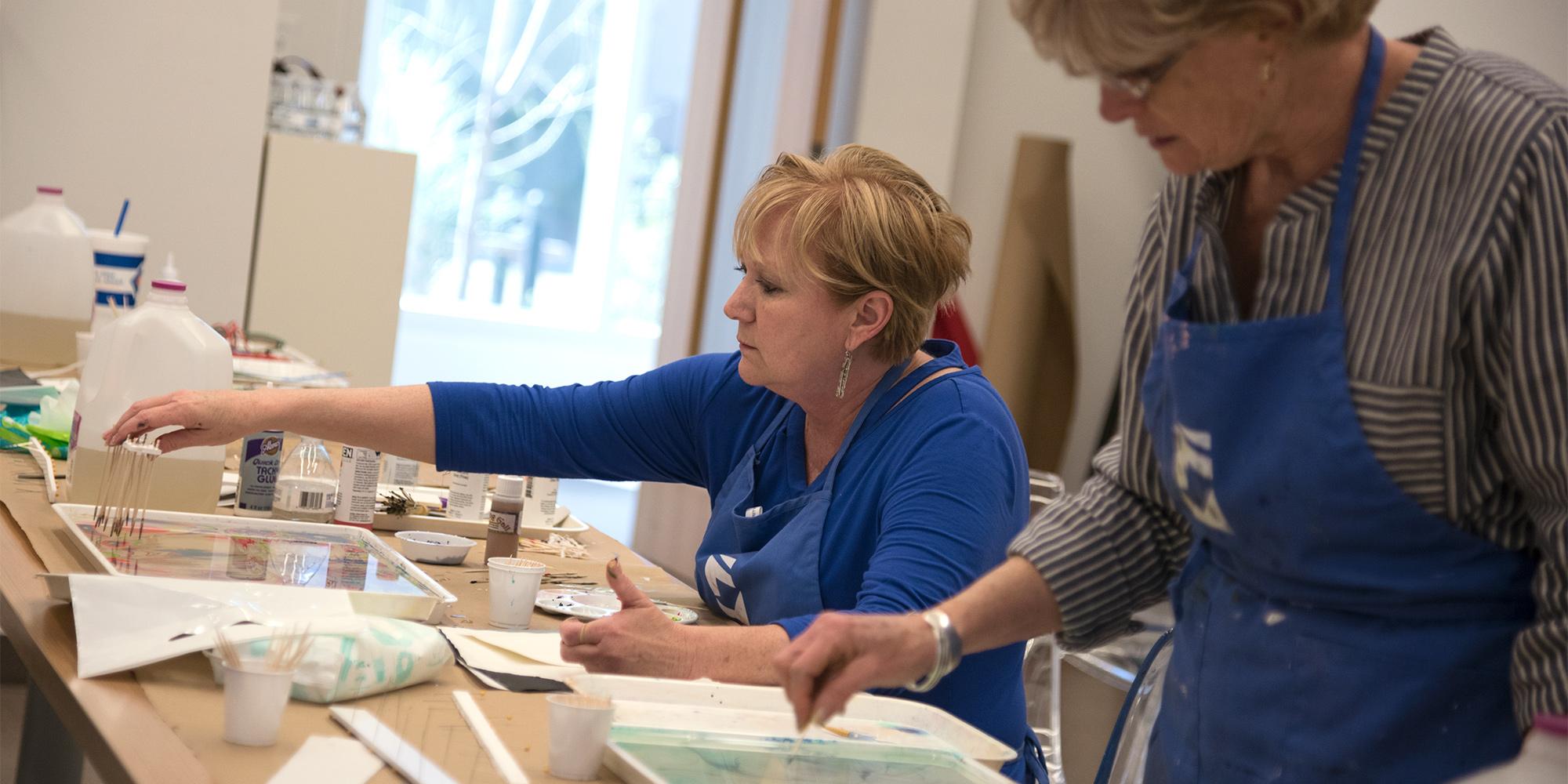 Adult Studio Workshops: Spring Series