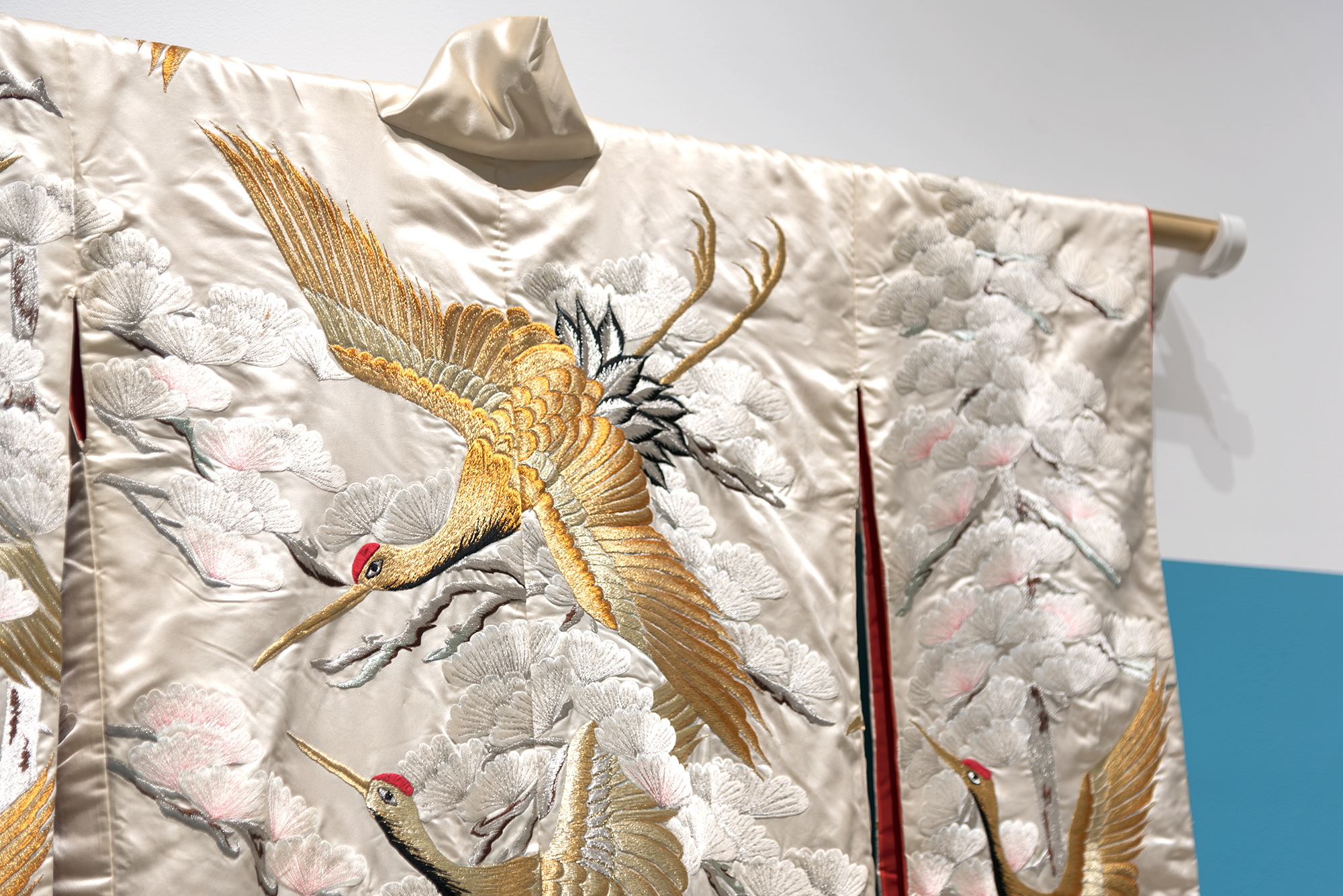 Uchikake Kimono, Silk with embroidery, Japan, Early 20th Century