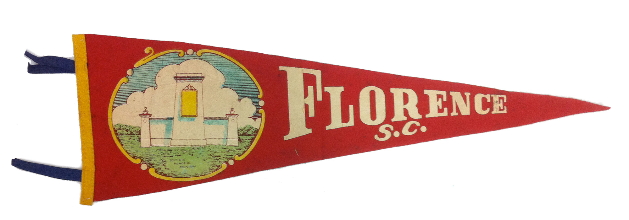 WWI Monument Pennant