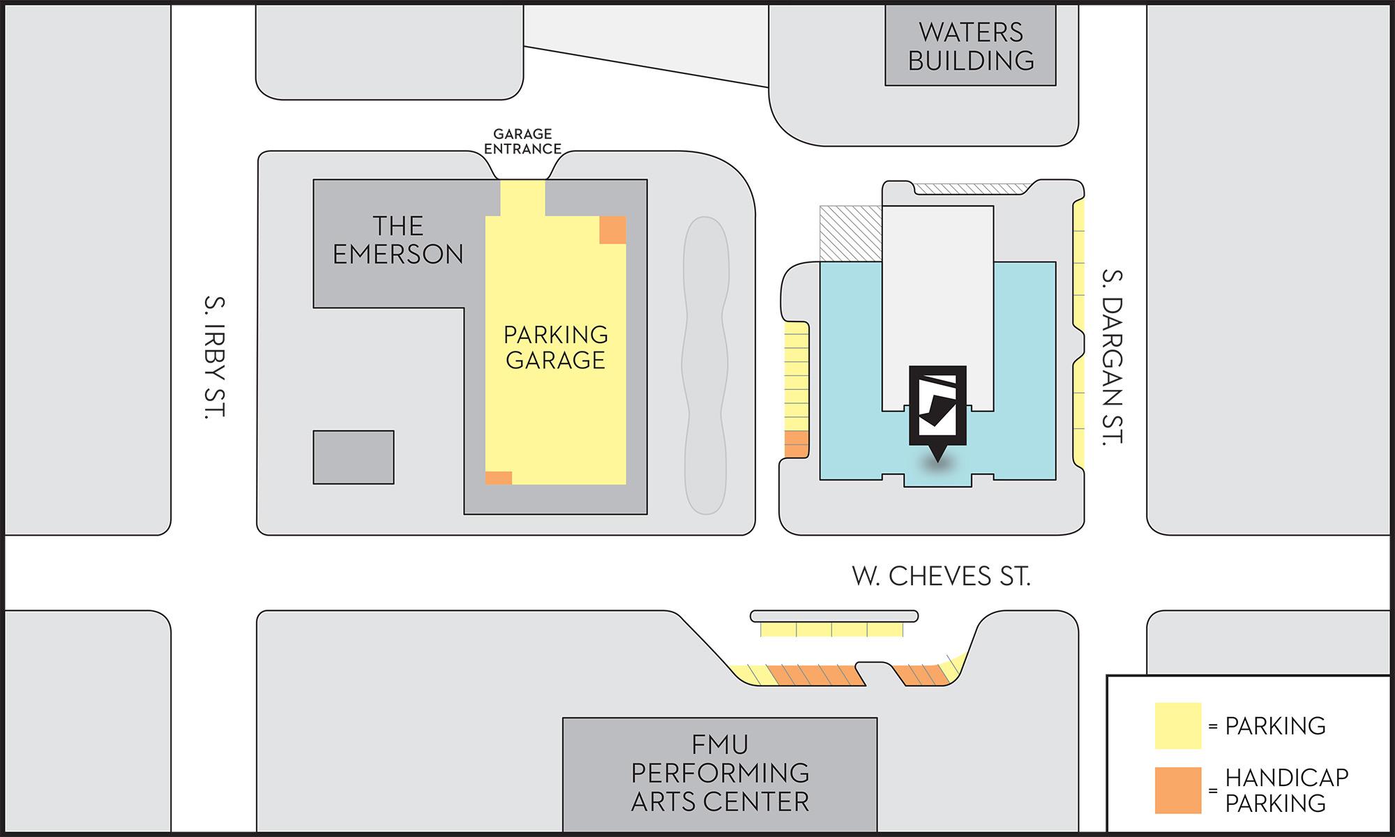 FCM Parking Map